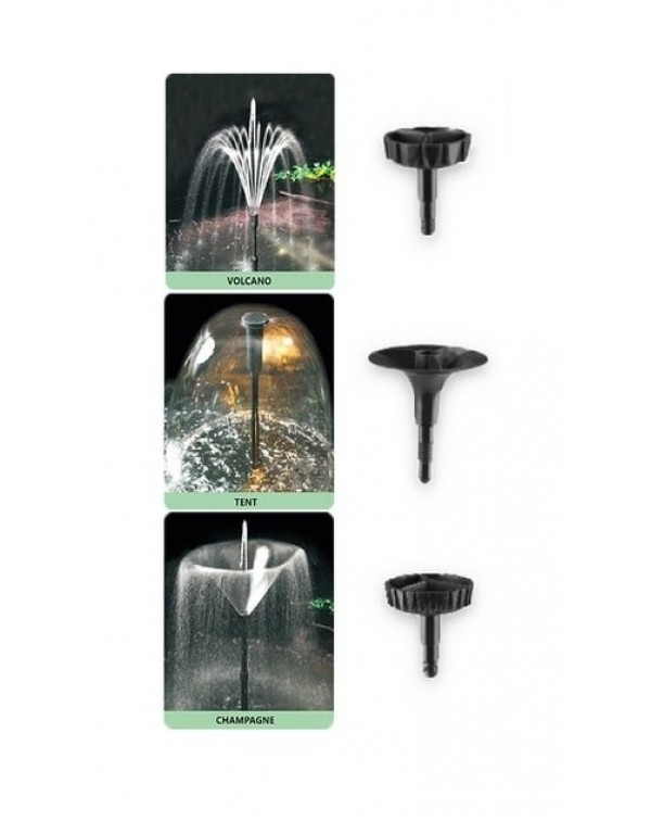 EnjoyRoyal FS-X4000 – pump for pond with fountain set