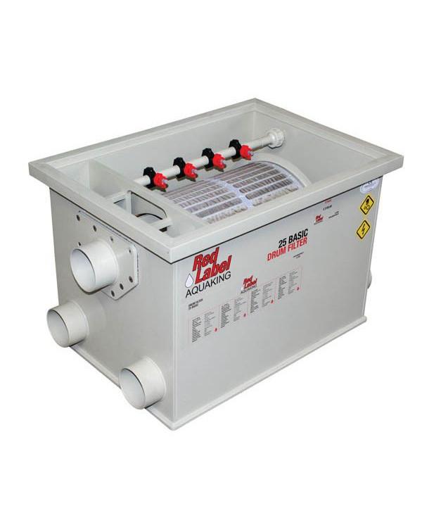 Red Label Drum Filter 20/25 - барабанний фільтр для ставків, водойм та УЗВ