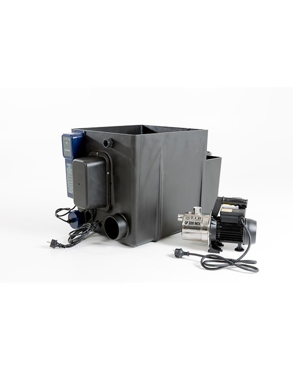 Filtrea Drum-Filter incl. UVC (Gravity) - drum filter mechanical cleaning for water