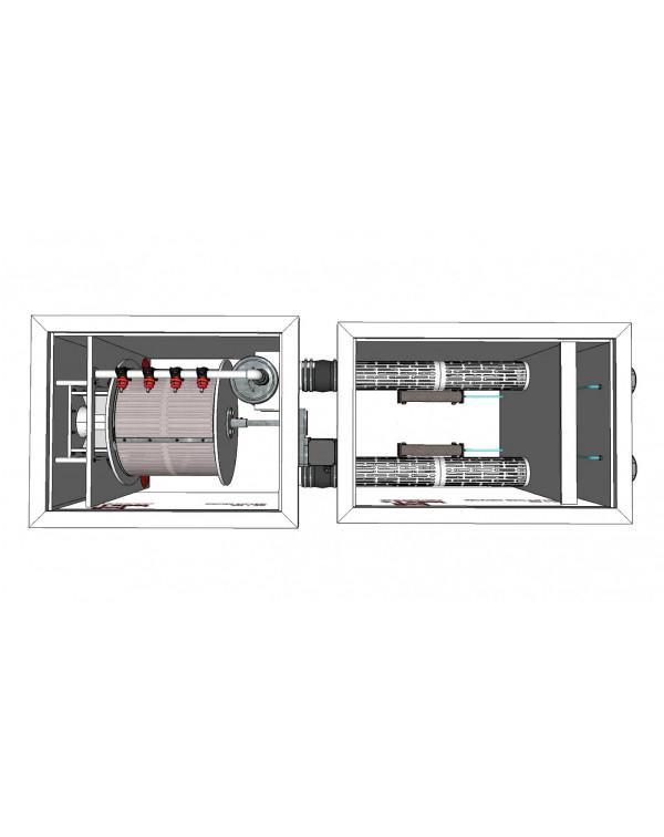 Red Label Moving Bed Filter 20/25 – биологический фильтр с подвижной загрузкой