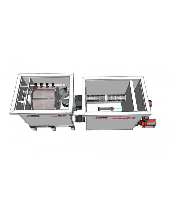 Red Label Moving Bed Filter 20/25 – біологічний фільтр з рухомим завантаженням