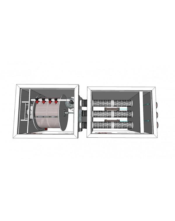 Red Label Moving Bed Filter 30/35 – biological filter with moving filter media
