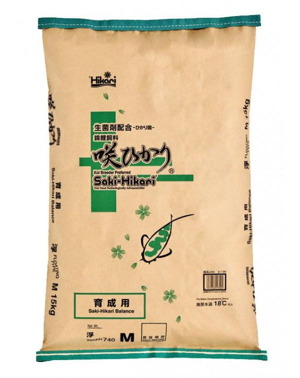 Saki-Hikari Balance 15 кг - koi feed