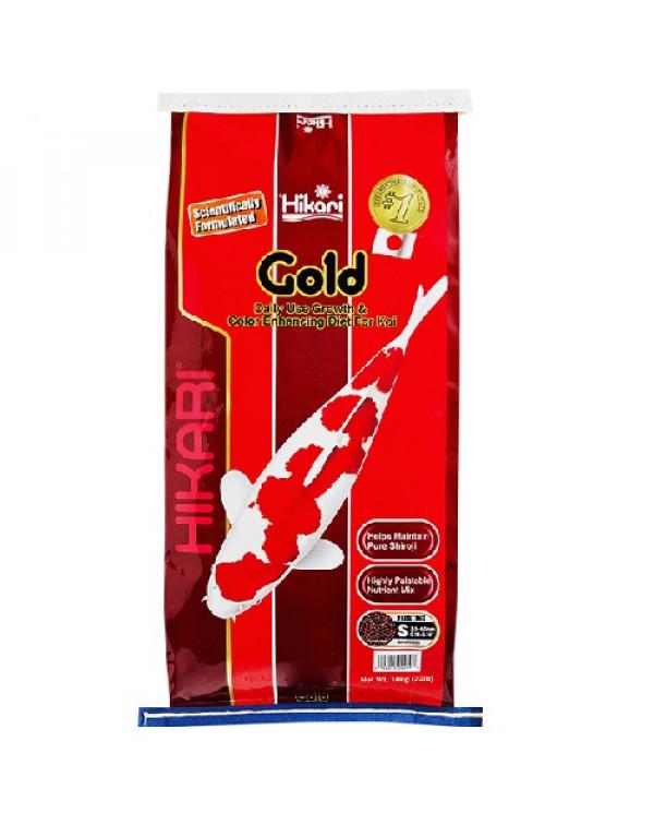 Hikari Gold 10 kg - koi feed for basic nutrition and colour enhancement