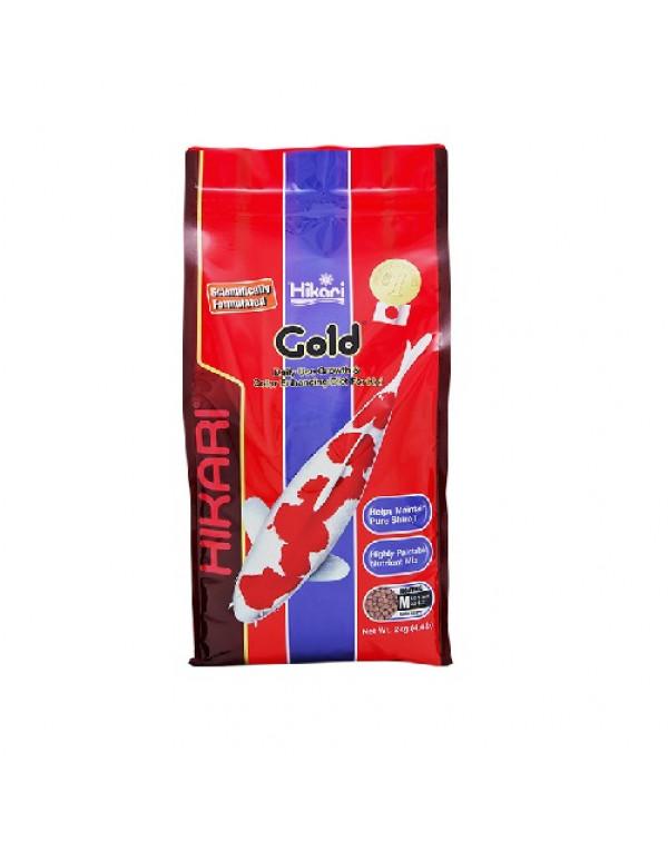 Hikari Gold 2 kg - koi feed for basic nutrition and colour enhancement