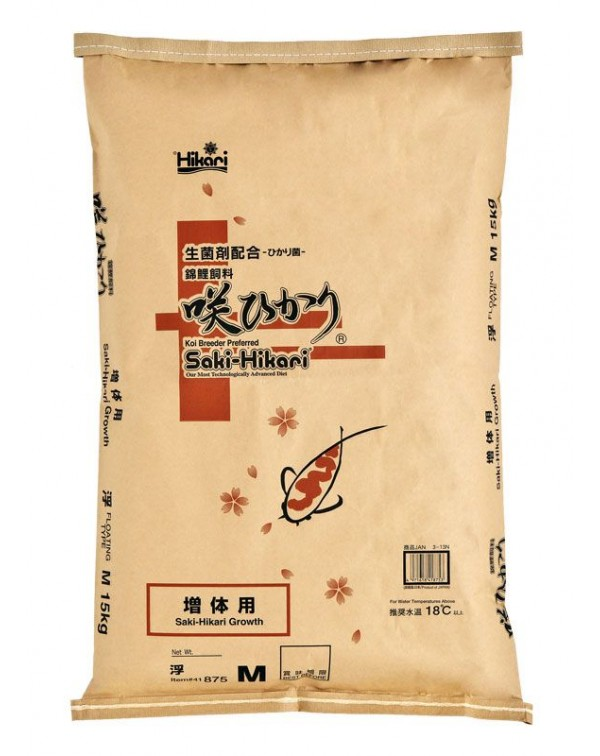 Saki-Hikari Growth diet 15 kg - koi feed