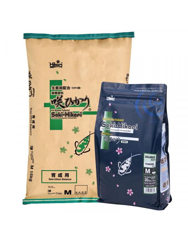Saki-Hikari Balance 2 kg - koi feed
