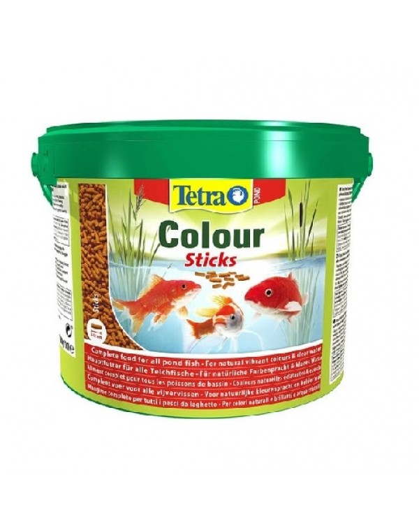 Tetra Pond Colour Sticks  (10 l / 1,9 kg) - feed for koi fish