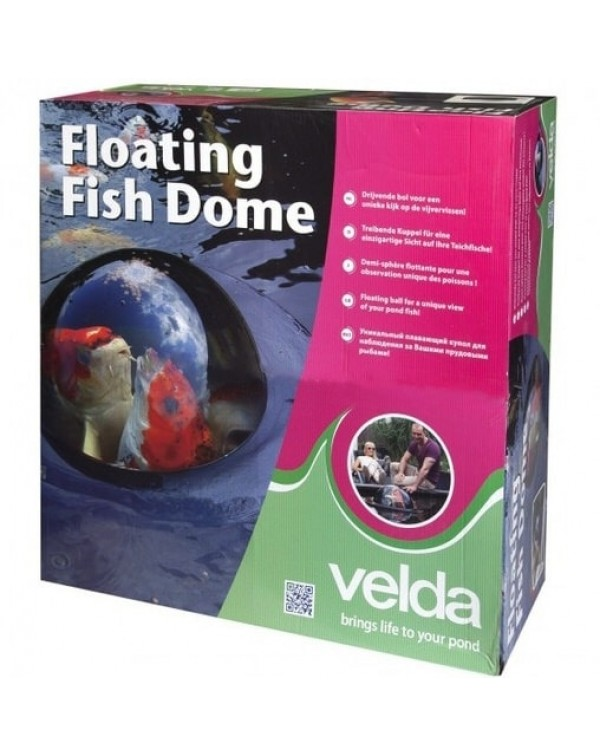 Velda Floating Fish Dome (M) - panoramic floating fish dome