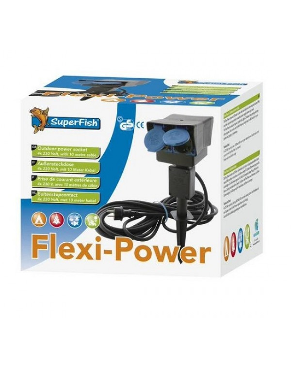 Garden outlet SuperFish Flexi Power