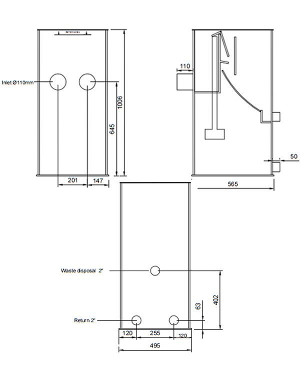 Filtreco Sieve 2 Large – ситчатий фільтр для механічної очистки води
