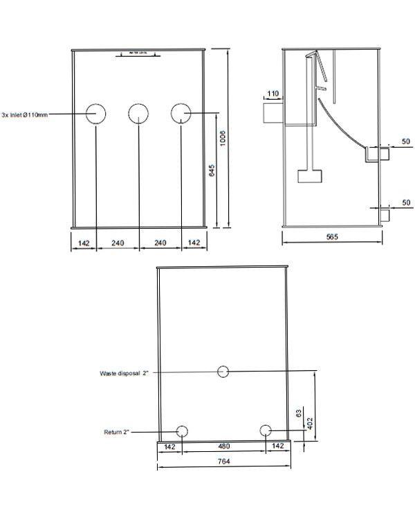 Filtreco Sieve 5 Large – ситчатий фільтр для механічної очистки води