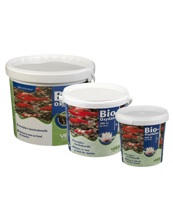 Biological product for removing sludge and sediment in a pond Velda Bio-Oxydator 1000 ml