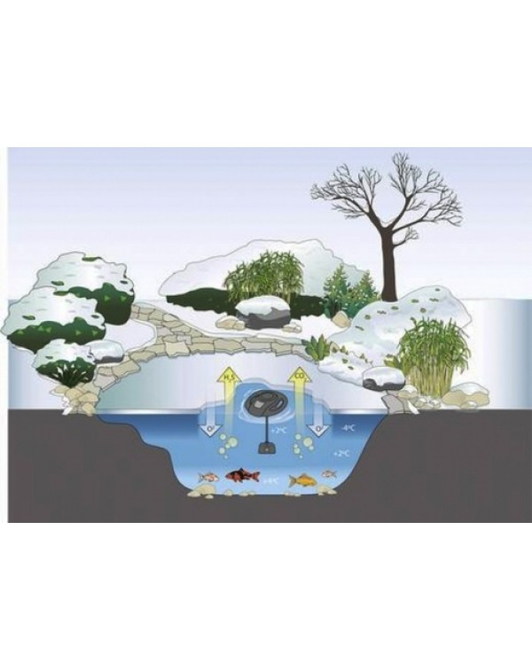 Defroster for pond - OASE IceFree 4 Seasons