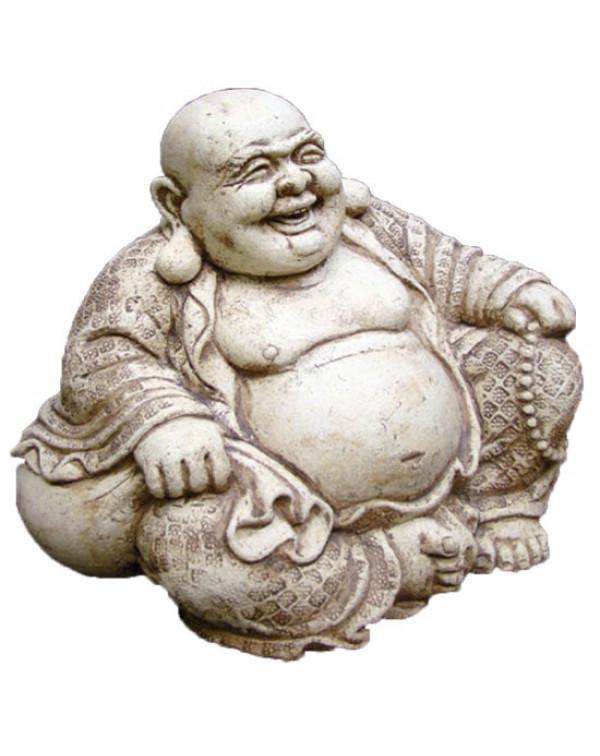 Ceramic sculpture, Hotei.