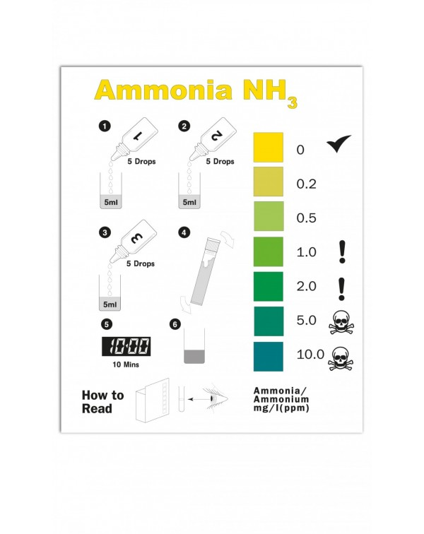 Water test - NT Labs Pondlab Ammonia Test Kit