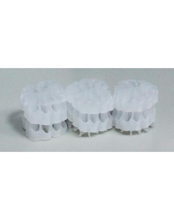 Hel-X HXF 12 KLL (100 liters) — floating filter media, white