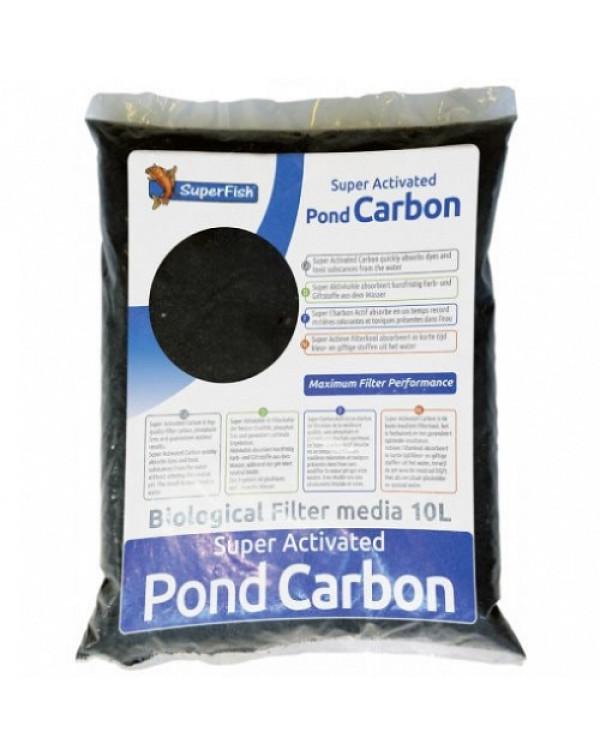 SuperFish Pond Carbon (10L) - filter med...