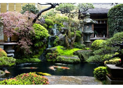 Japanese landscape design