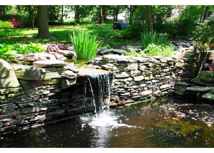 Сучасне високоякісне обладнання для ставків і водойм