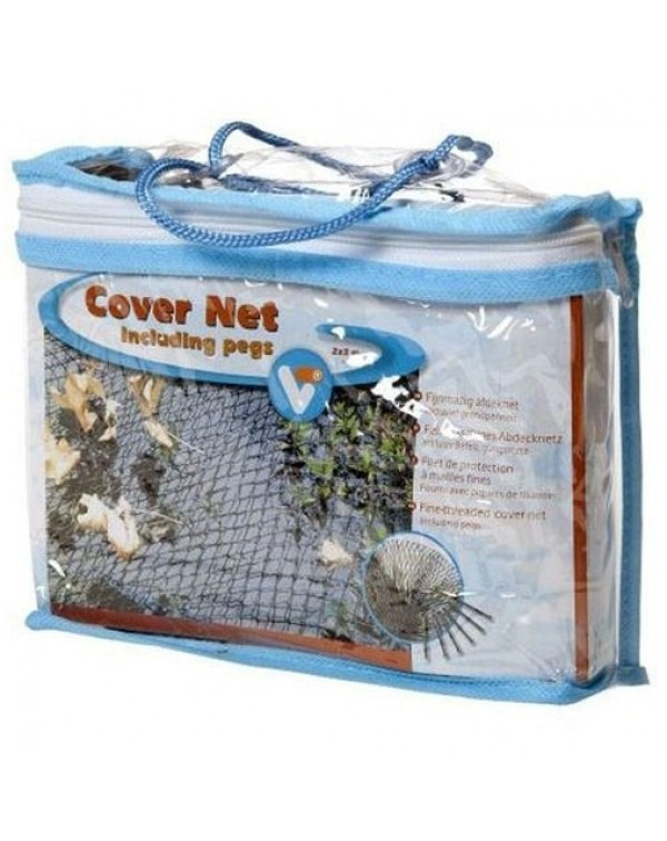 Grid on a mirror of water Velda VT Cover Net 6 x 5 m