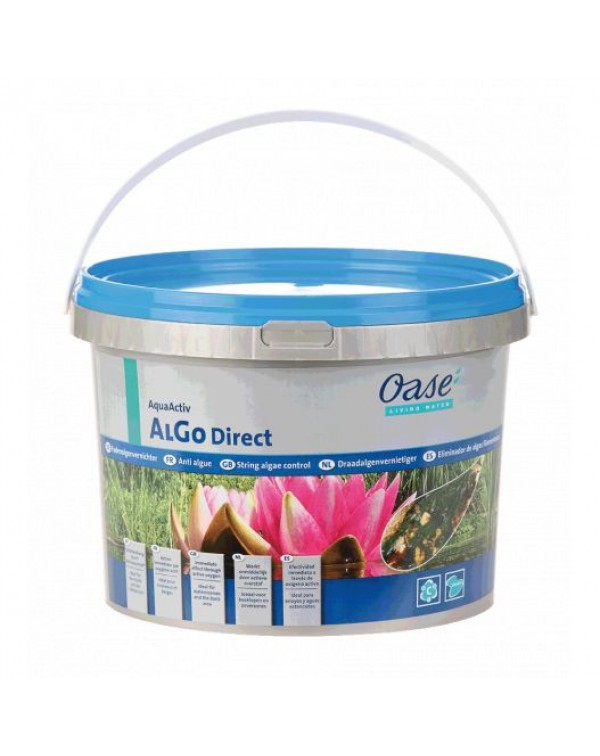 Oase AquaActiv AlGo Direct 5l - preparation for removing filamentous algae in the pond