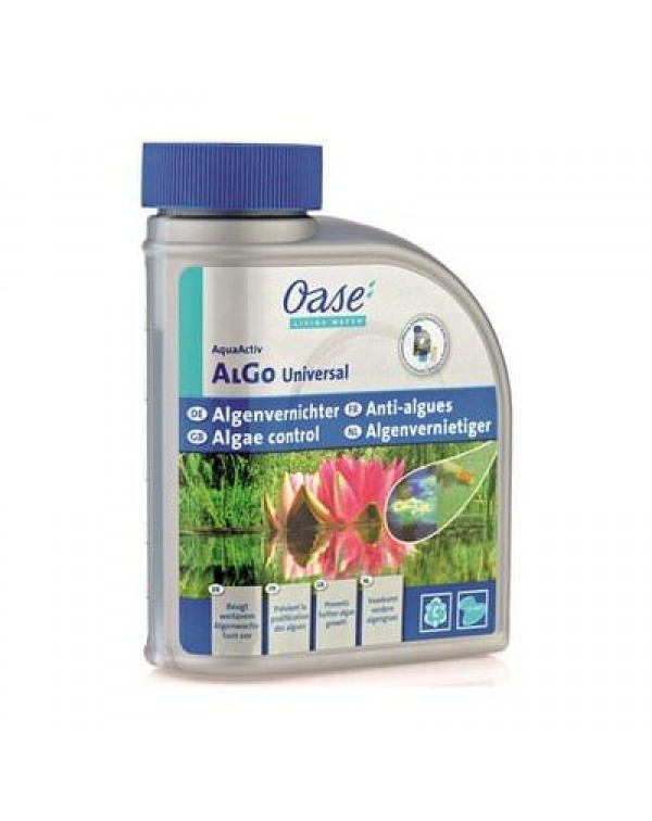 Oase AquaActiv AlGo Universal 500 ml - preparation for removing algae in the pond