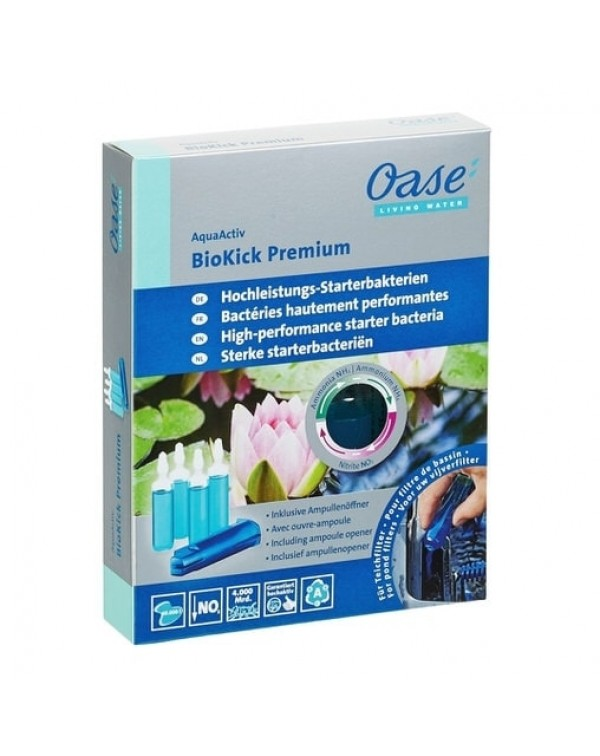 Oase AquaActiv BioKick Premium - стартовые бактерии для фильтра