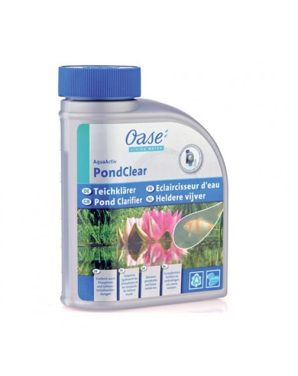 Oase AquaActiv PondClear 500 мл - препарат для боротьби з мутностью води в ставку