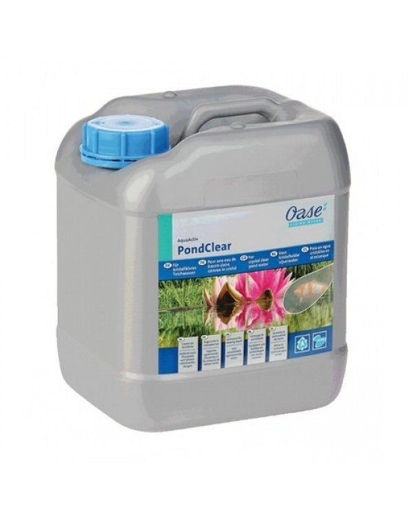 Oase AquaActiv PondClear 5l - a preparation for combating turbidity in pond water