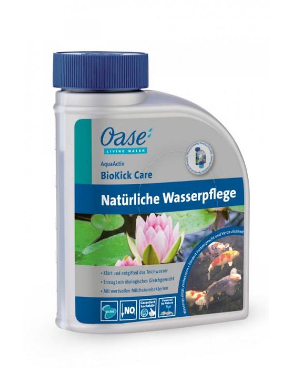 Oase AquaActiv BioKick Care 500 мл - препарат для пожвавлення води в ставку