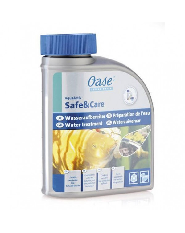 Oase AquaActiv Safe&Care 500ml - Pond Water Treatment