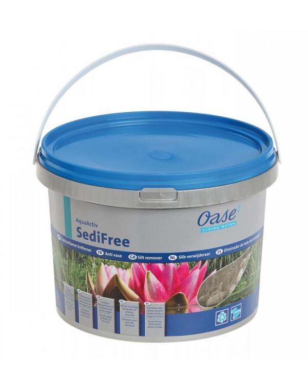 Oase AquaActiv SediFree 5л - препарат для удаления ила в пруду