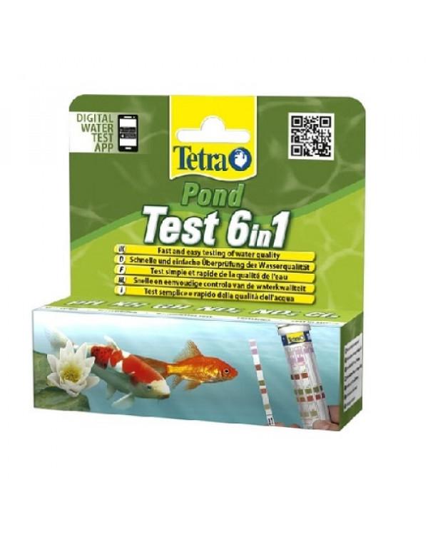 Tetra Pond Quicktest 6 in 1 - экспр...