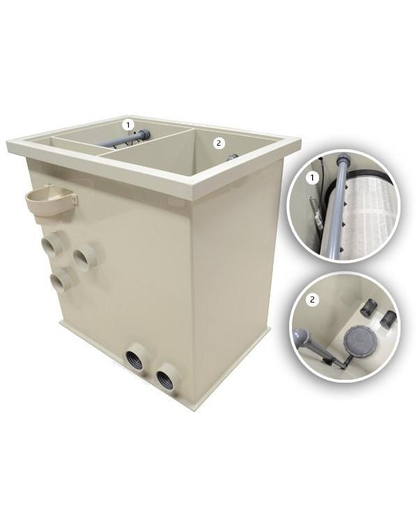 Filtreau Combi Next - комбінований барабанний фільтр для ставка