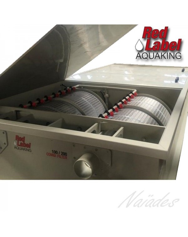 Red Label Combi Drum 100/200 – комбінований барабанний фільтр для ставка водойми або УЗВ