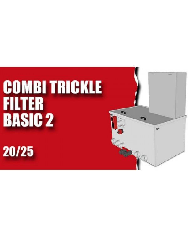 Red Label Combi Trickle 20 / 25 Basic 2 – combined water filter for pond or reservoir