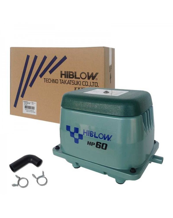 Hiblow HP-60 - membrane type air compressor for pond