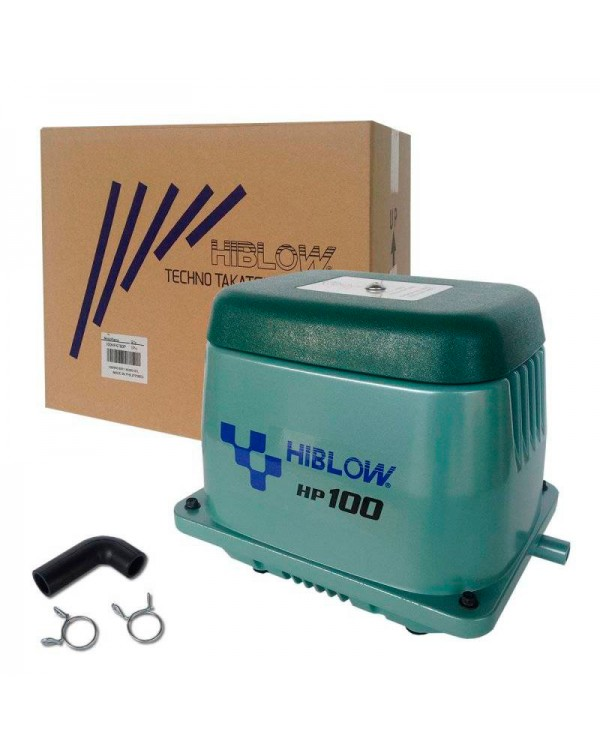 Hiblow HP-100 - membrane type air compressor for pond
