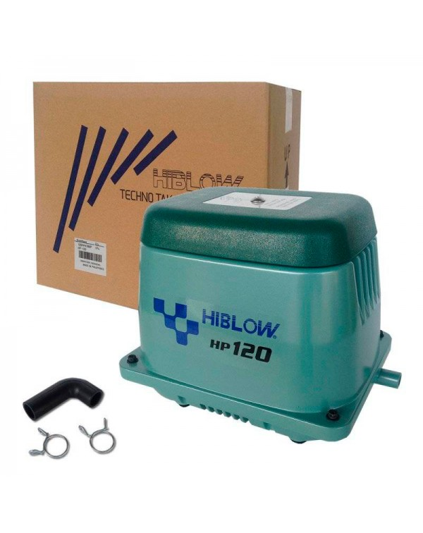 Hiblow HP-120 - membrane type air compressor for pond
