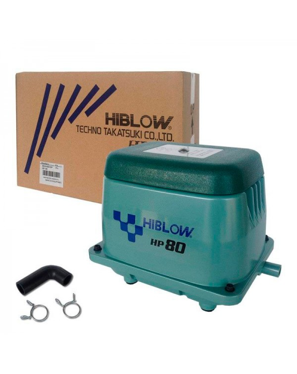 Hiblow HP-80 - membrane type air compressor for pond