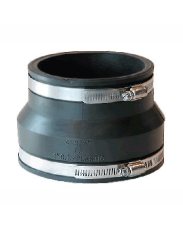 Pipeconx Rubber Coupling Adapter 125x110 mm