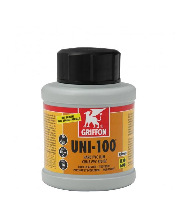 Клей для ПВХ труб Griffon UNI-100 – 250 мл