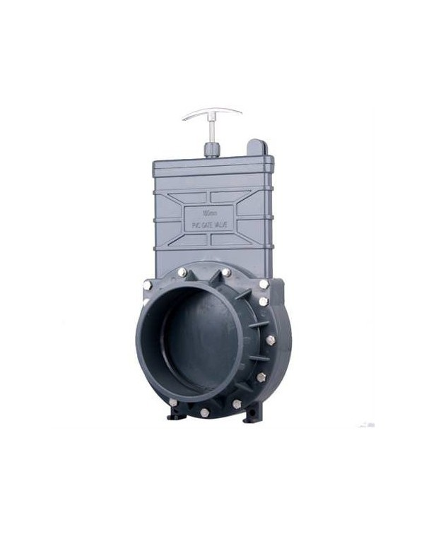 Задвижка для труб ПВХ 160 мм X-Clear