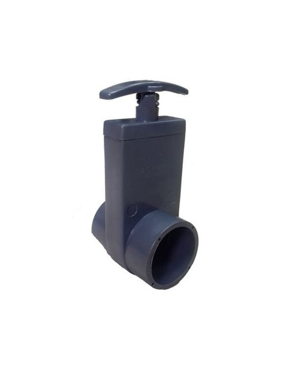 Valve for PVC pipes 50 mm X-Clear