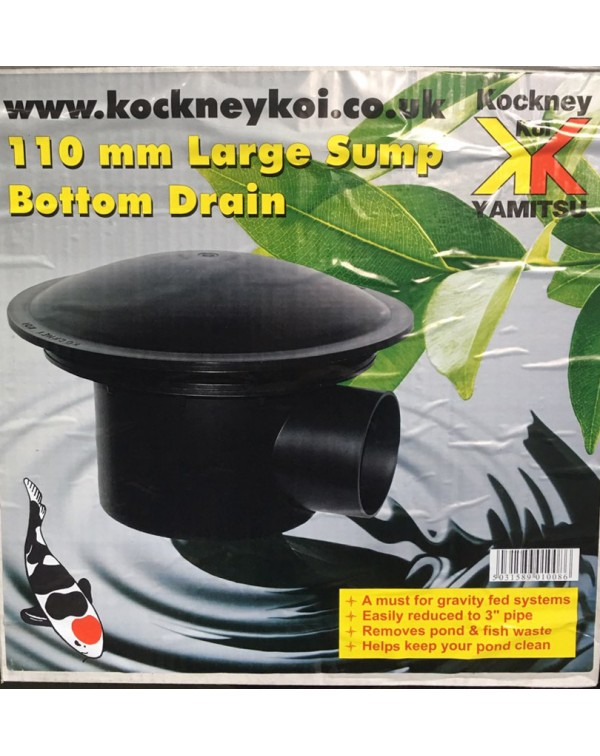Yamitsu Bottom Drain 110 mm