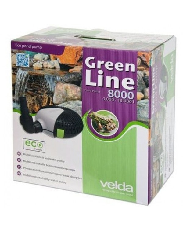 Velda Green Line 8000 - water pump for pond, waterfall or fountain