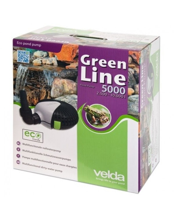 Velda Green Line 5000 - water pump for pond, waterfall or fountain