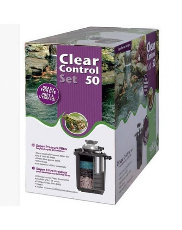Комплект фільтрації для ставка Velda Clear Control 50 Set
