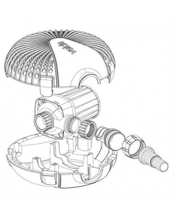 Velda Green Line 12500 - water pump for pond, waterfall or fountain
